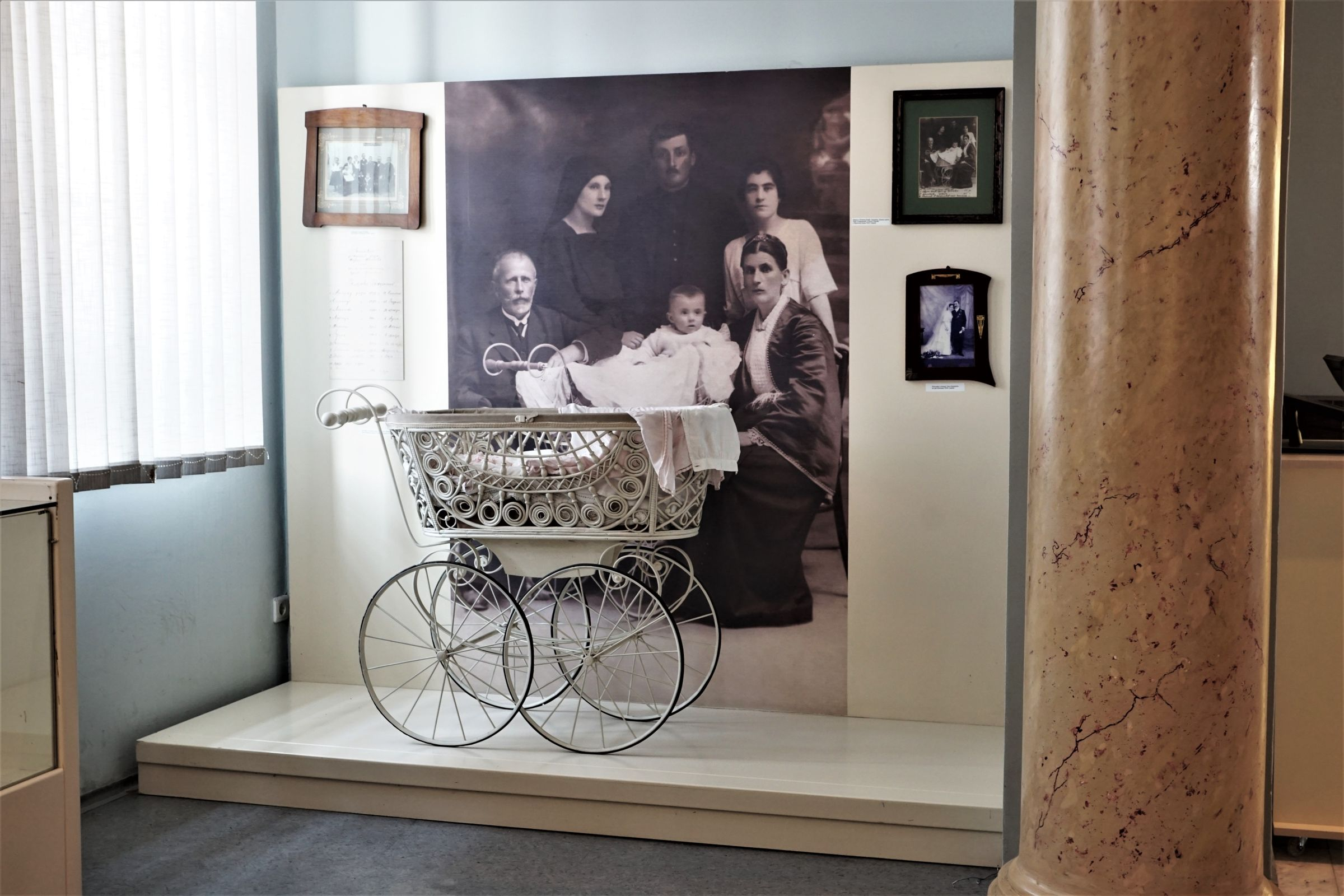 Part dedicated to family life in Kraljevo at the beginning of the 20th century in the Hallway of the Permanent Exhibition