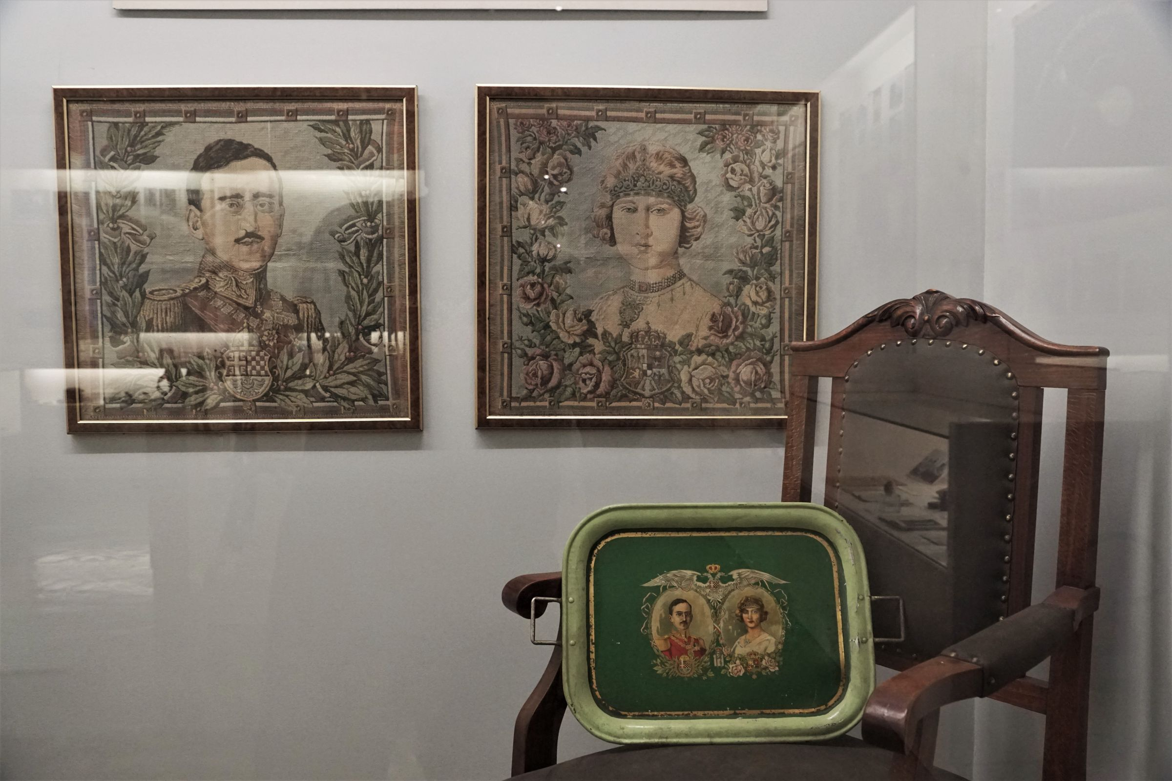 Items with depictions of King Alexander I Karađorđević and Queen Maria